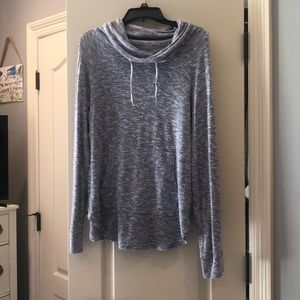 Light Purple Sweatshirt with high neck